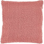 Dutch Decor Linsy - Sierkussen - 45x45 cm - peach