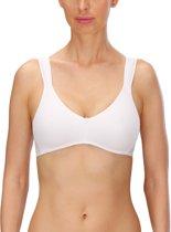 Naturana - Sportbeha -  lichte ondersteuning (Yoga, Gymnastiek) - 5127 - wit - B95