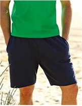 Navy blauwe sportbroek / short voor heren XL