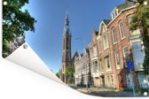 Kathedraal in het centrum van Groningen Tuinposter 120x80 cm - Tuindoek / Buitencanvas / Schilderijen voor buiten (tuin decoratie)