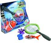Robo Fish + net + 2coral