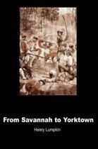 From Savannah to Yorktown