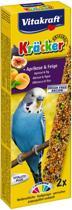 Vitakraft Parkietkracker - 2 in 1 fruit - Vogelvoer - Vogelsnack