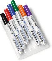 Legamaster 7-110096 markeerstift 6 stuk(s) Zwart, Blauw, Groen, Oranje, Rood, Violet