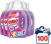 Omo Wasmiddel Kleur – 110 wasbeurten -  5 stuks x 20 wasbeurten - voordeelverpakking