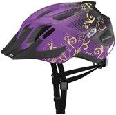 ABUS MountX - Kinder fietshelm - Maori Purple - M (53-58cm) - Paars