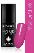 REVERS® Hybrid Nail Polish UV/LED 6ml. #94 Fuchsia