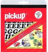 Pickup plakletters boekje Cooper 15mm letters zwart