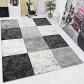 Vloerkleed - 2500 gr per m² - Infinity - Grijs - 7757 - 80x150 cm - 13 mm