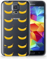 Samsung Galaxy S5 Uniek TPU Hoesje Banana