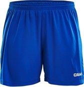Craft Squad Short Solid dames Sportbroek - Maat M  - Vrouwen - blauw/wit