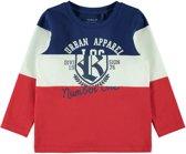Name it Jongens T-shirt - Mars Red - Maat 104