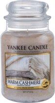 Yankee Candle Warm Cashmere - Large Jar