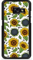Galaxy A3 2017 Hardcase Hoesje Sunflowers