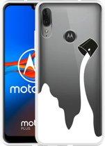 Motorola Moto E6 Plus Hoesje Paint Bucket