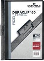 Durable Klemmap Duraclip Original 60 zwart