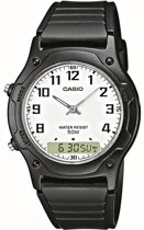 Casio AW-49H-7BVEF - Horloge - 36 mm - Kunststof - Zwart