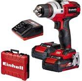 EINHELL Accu Boor-/Schroefmachine TE-CD 18 Li E Kit - Power-X-Change  - 18 V - 47 Nm - Inclusief 2x 2,0 Ah accu / 1x lader / koffer
