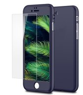 Mobiq - 360 Graden Beschermhoes iPhone 8 Plus / 7 Plus