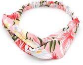 Haarband met Bloemen - Hoofdband - Roze - Musthaves