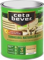 Cetabever Tuinmeubelbeits - Natuurlijk Effect - Blank - 750 ml