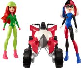DC Super Hero Girls Quad met Harley Quinn en Poison Ivy