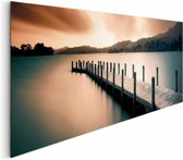 Reinders Schilderij Wooden Landing Jetty - Deco Panel - 156 x 52 cm - no. 22237