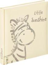 Walther Design UK-150 Baby Album Little Sunshine - Fotoalbum - 28 x 30 cm - Crème/Grijs - 50 pagina's