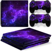 Dark Galaxy - PS4 Pro Console Skins PlayStation Stickers