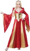 Middeleeuwse koningin kostuum voor vrouwen