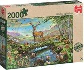 Natuurpracht - Puzzel - 2000 Stukjes