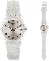 Swatch Gent Silverblush horloge  - Zilverkleurig