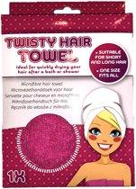Microvezel Haarhandoek - Douche - Microvezel handdoeken - One Size - Roze