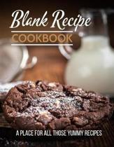 Blank Recipe Cookbook