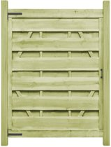 vidaXL Poorten 2 st 150x200 cm FSC geïmpregneerd grenenhout groen
