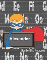Alexander Handwriting Notebook
