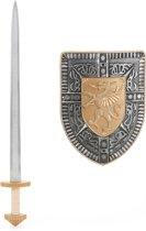 Set zwaard en schild voor kinderen - Verkleedattribuut
