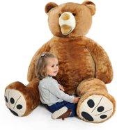 XXL teddybeer - Roodbruin- 160 cm