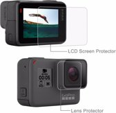Pro Series Ultra Clear LCD + Lens Screen Protector Folie (3 Stuks) - Wit