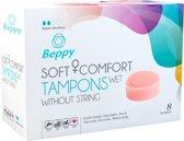 Beppy Soft+Comfort Tampons Wet - 8 stuks