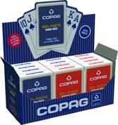 Copag Plastic Pokerkaarten - Jumbo Index - Display
