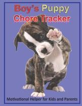 Boy's Puppy Chore Tracker