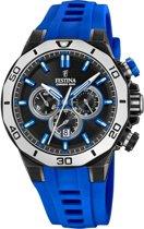 Festina Chronobike horloge  - Blauw