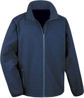 Senvi Sports Softshell Jas Unisex - Kleur Blauw - Maat M