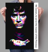 Poster WPAP Pop Art The Lord of the Rings