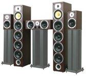 LTC V9b Bl - Home Theatre 5.0 speakerset - Zwart (3 dozen)