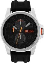 Boss Orange HO1550006 Detroit Horloge - Rubber - 48mm - Zwart