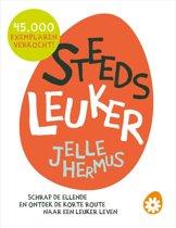 Boek cover Steeds leuker van Jelle Hermus (Paperback)