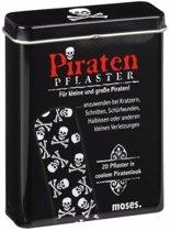 Piraten pleisters 20 stuks