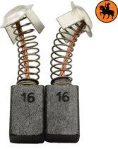 Koolborstelset voor Hitachi Hamer H 50 - 7x11x17mm